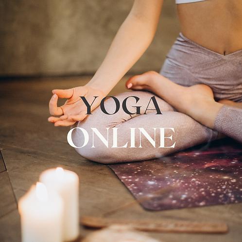 Membresía: un mes de Yoga Online