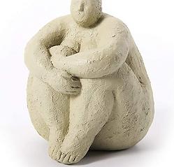 HAUCOZE Woman Lady Statue Figurine Yoga