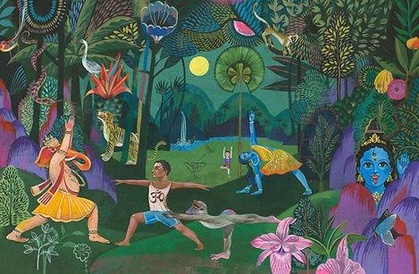 Illustriertes Yogabuch von Olaf Hajek.jpg