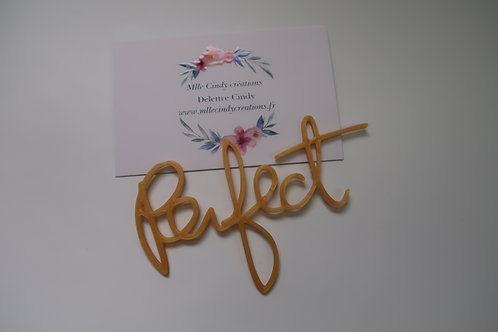 "Mot ""Perfect"""