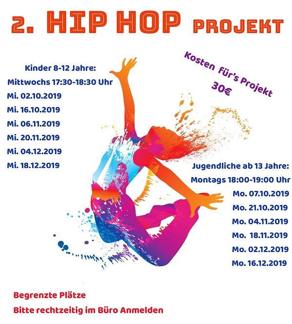 2. Hip Hop Projekt Ballettstudio am Ketschentor.jpg