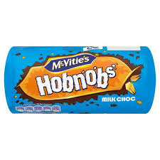 MCVITIES, Hob Nobs Milk Chocolate