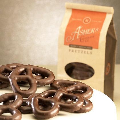 ASHER'S, Dark Chocolate Covered Pretzels