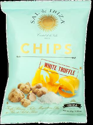 IBIZA, White Truffle Potato Chips (Large Bag)