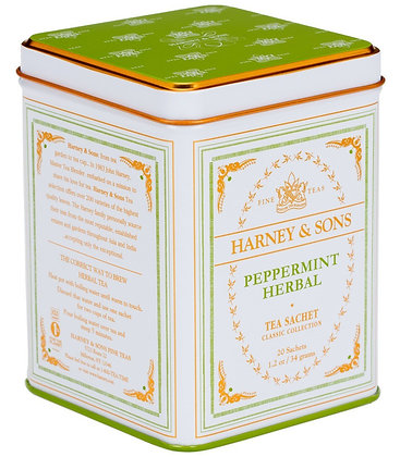 HARNEY AND SONS, Peppermint Herbal