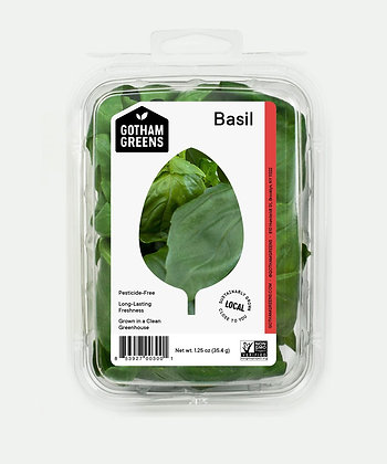 GOTHAM GREENS, Basil