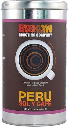 BROOKLYN ROASTING COMPANY, Peru Coffee Tin