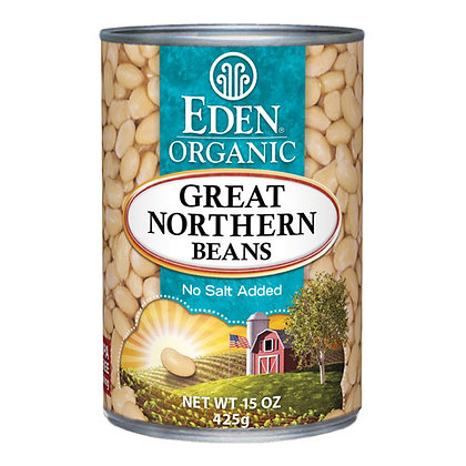 EDEN ORGANIC, Great Northern Beans