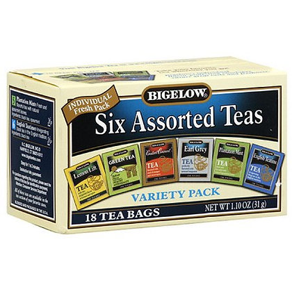 BIGELOW, Variety Pack. Assorted Tea's