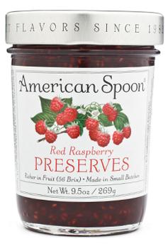 AMERICAN SPOON, Red Raspberry Preserves