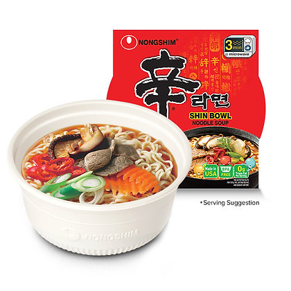 NONG SHIM, Shin Spicy Noodle Bowl