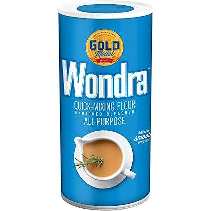 WONDRA, Quick Mixing All Purpose Flour Shakers