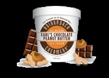 ADIRONDACK, Earl's Chocolate Peanut Butter Ice Cream