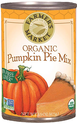 FARMER'S MARKET, Organic Pumpkin Pie Mix