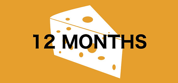 12 Month Cheese Club