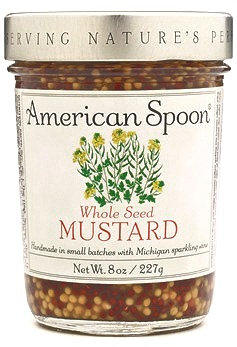 AMERICAN SPOON, Whole Seed Mustard