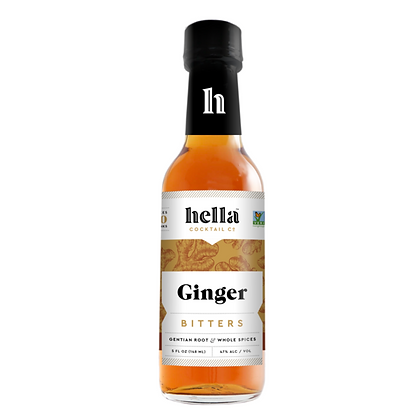HELLA BITTERS, Ginger Lemon