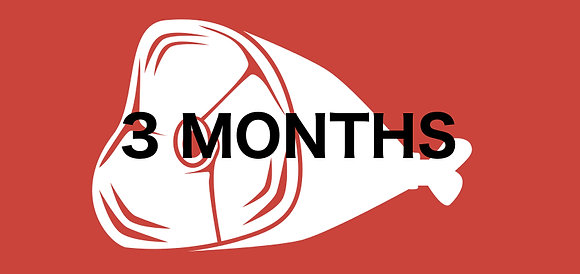 3 Month Meat Club