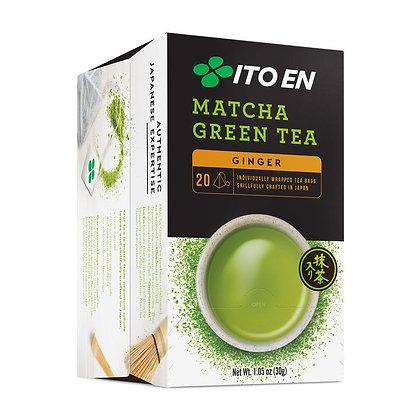 ITO EN, Matcha Green Tea Bags Ginger