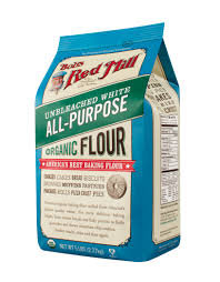 BOB'S RED MILL, Organic Unbleached All Purpose Flour