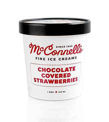 MCCONNELL'S, Chocolate Covered Strawberries