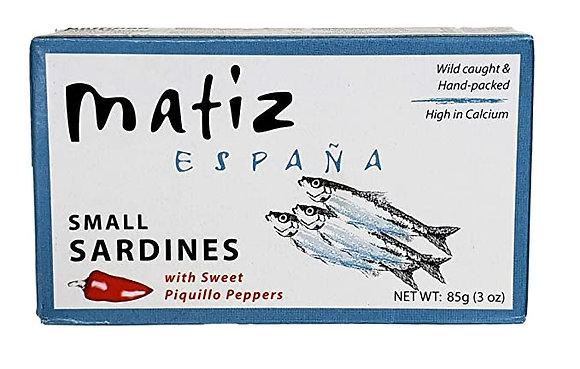 MATIZ, Sardines with Piquillo
