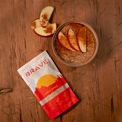 BRAVE, Overnight Oats Apple Spice