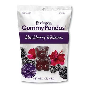 BISSINGER'S, Blackberry Hibiscus Gummy Pandas