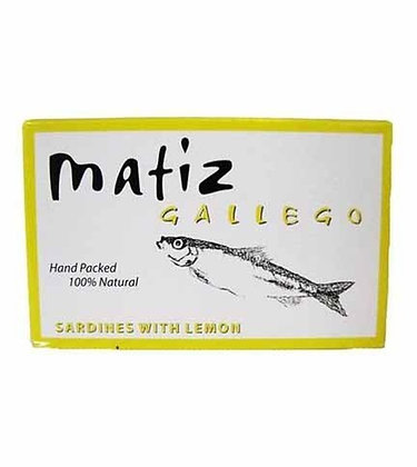 MATIZ, Wild Sardines in Lemon