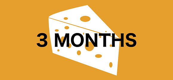 3 Month Cheese Club