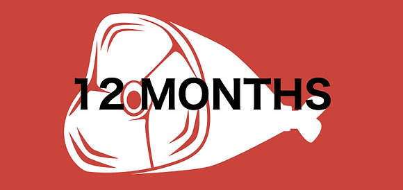 12 Month Meat Club