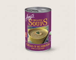 AMY'S ORGANIC, Cream of Mushroom