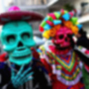 travel with us, small group travel, undiscoverd sunsets, mexico, day of the dead