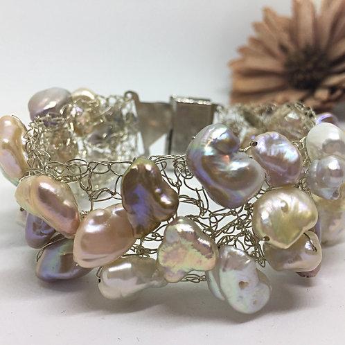 Bracciale Perle Barocche e Scaramazza