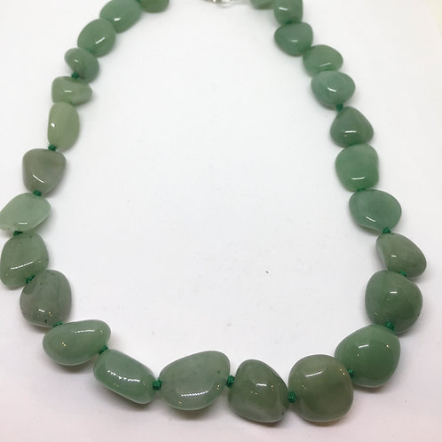 Collana in Avventurina Verde