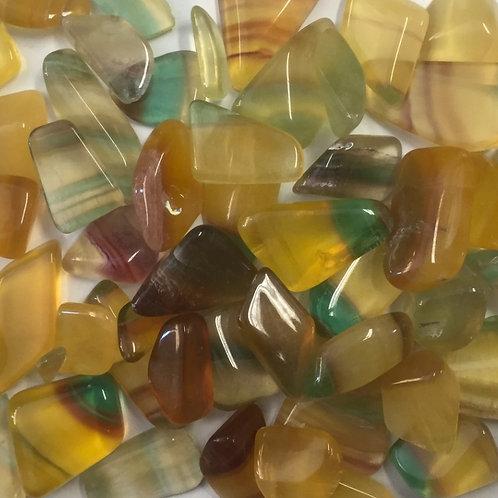 Fluorite Multicolore Burattata