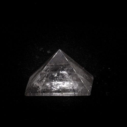 Piramide in Quarzo Ialino