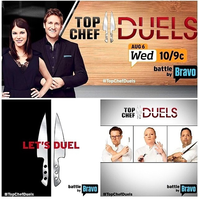TONIGHT don't forget to watch #topchefduels on _bravotv 🔪📺_Thank you to the talented _uzmeebeauty