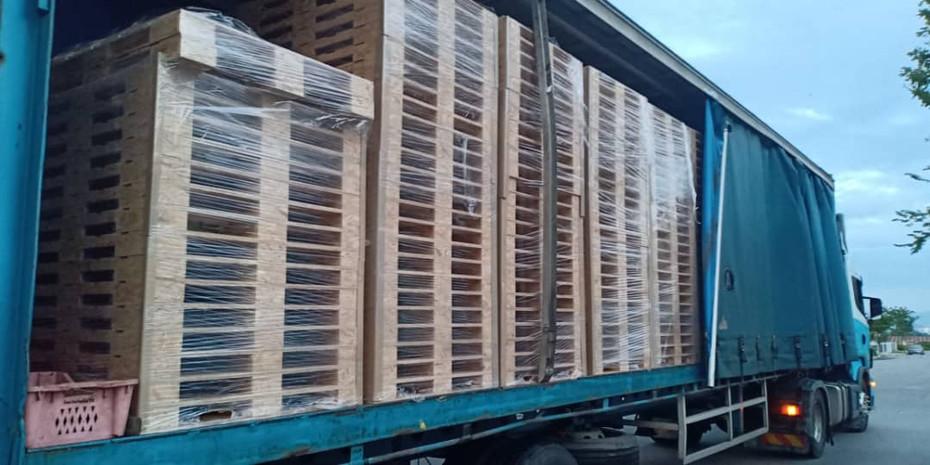 OSB Pallet Ready to Ship
