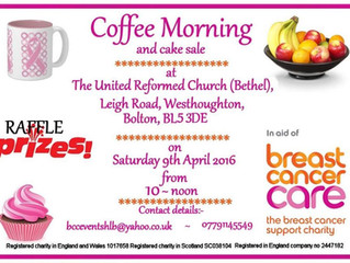 Coffee and Cake for Breast Cancer Care