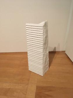 """Bride"" plaster sculpture"