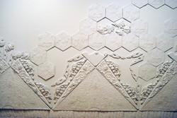 plaster sculpture relief