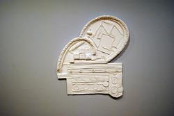 """""""Rio"""" plaster sculpture"""