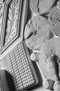 sarah fonzi artist buffalo ny plaster relief
