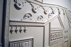 plaster sculpture installation