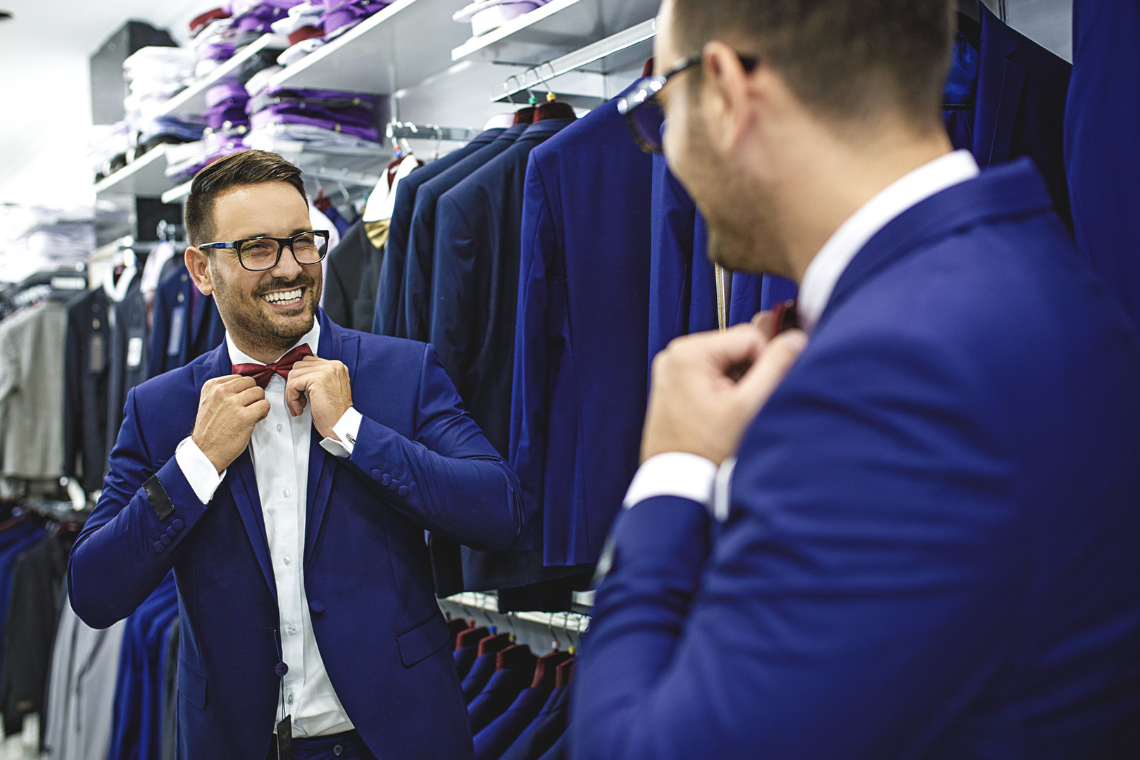 Exklusiv Shopping auch für Herren