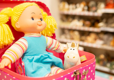 Puppen klein & groß