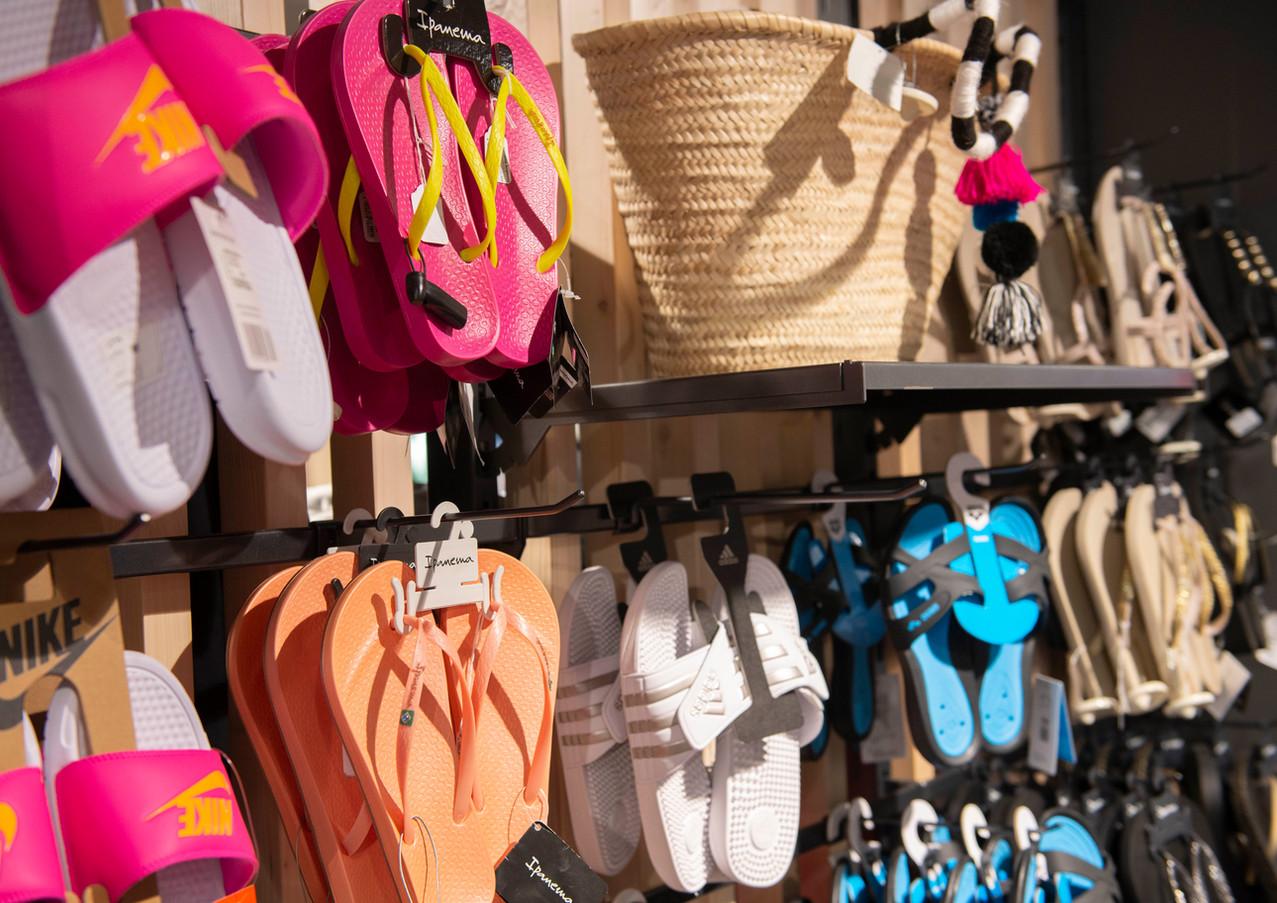 Badeschuhe und Accessoires für den Strand