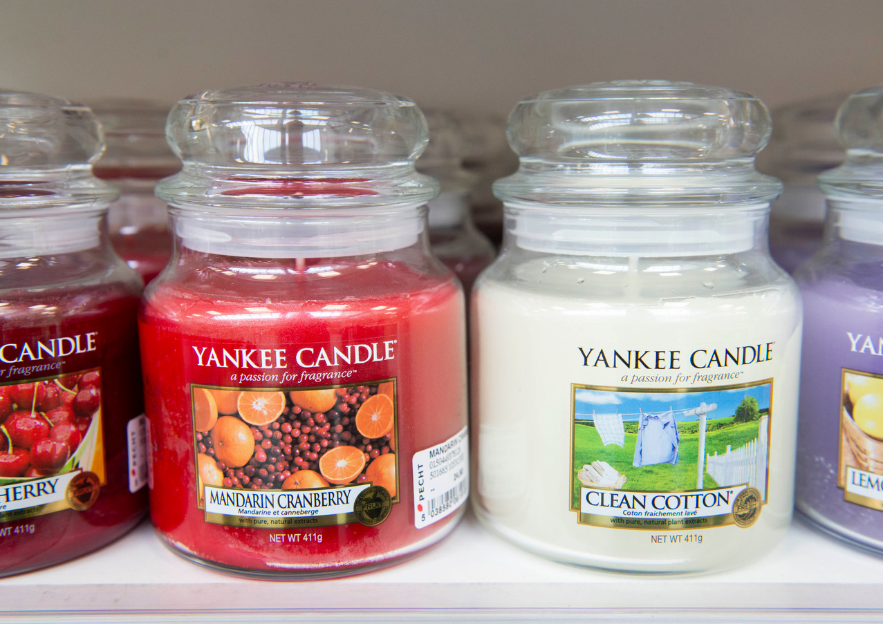 Duftende Yankee Candles