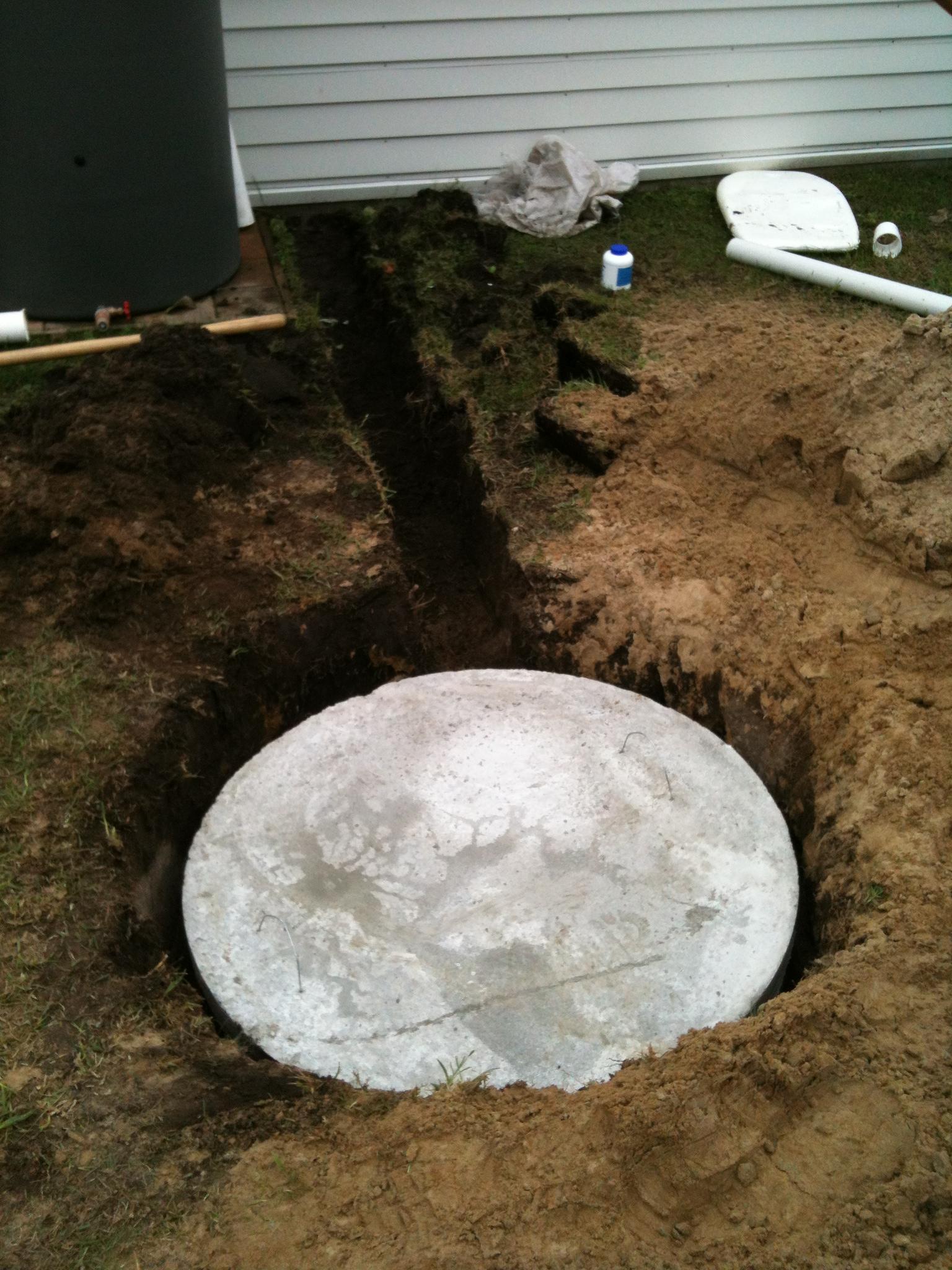 Domestic Soak Ring Install